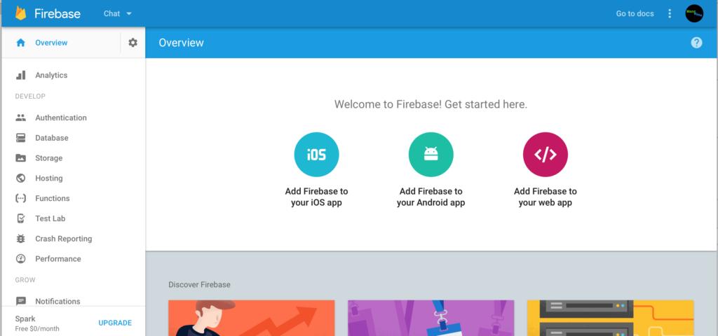 Firebase Chat 1