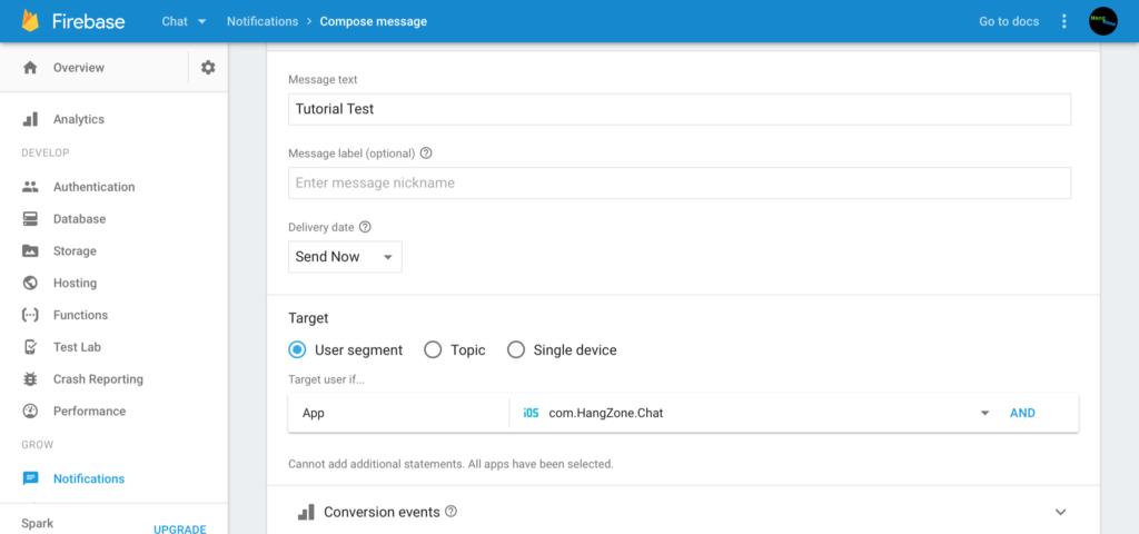 Firebase Chat 12