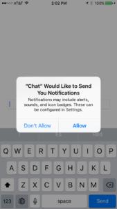 Firebase Chat 13