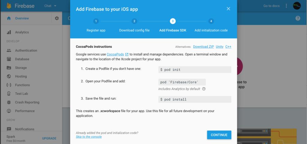 Firebase Chat 3
