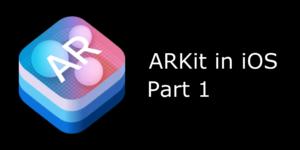 Blog ARKit iOS 1