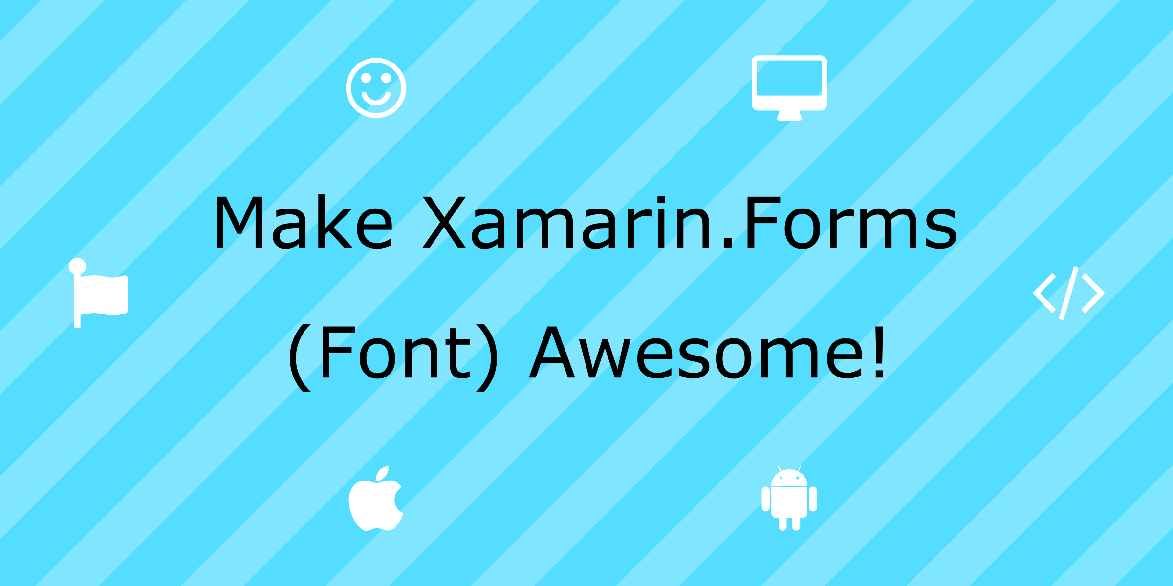 Font Awesome Icons in Xamarin Forms - HangZone